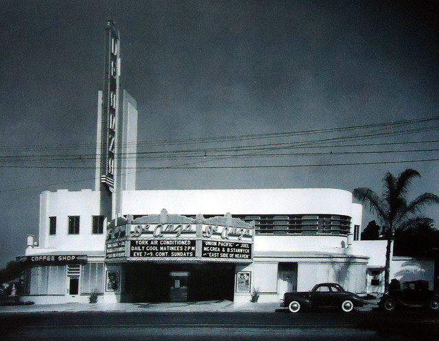 De Anza Theatre exterior