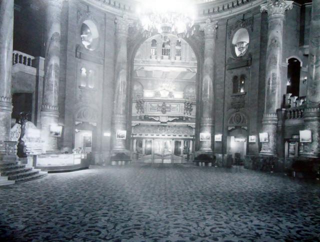 Roxy Theatre lobby area