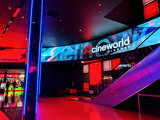 "Cineworld O2 Foyer - ""Wrap Around"" Video LED Module Display"
