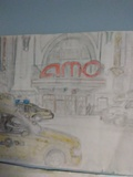 My AMC Empire 25 drawings