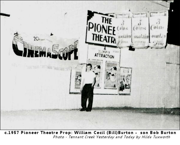 CinemaScope comes to The Pioneer (Open Air) Theatre Tennant Creek - NT