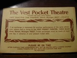 Vest Pocket Theatre 70 - 71