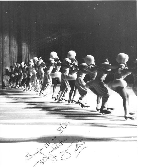 NY ROXY 1956 ice show