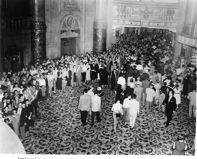 NY ROXY Theatre 1953