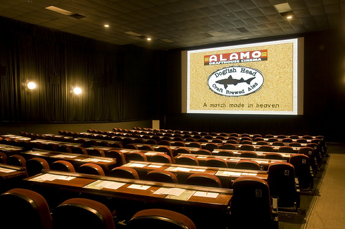 Food And Drink: Alamo Drafthouse Cinema Downtown In Austin, TX
