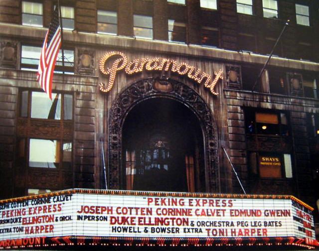 Paramount Theatre exterior (1951)