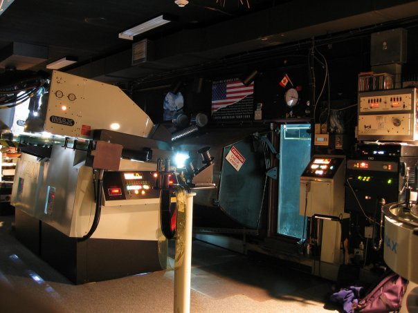 CN IMAX Projection Booth