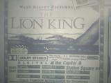 Lion King 1994 Dolby Digital