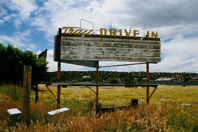 Trail Drive-In  Walsenburg, CO  August 1997 #1