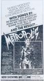 Advertisement for Ascot Cinema screening of Metropolis