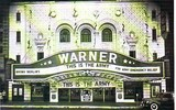 The Warner Theatre front in the 1940s.