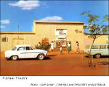 The Pioneer Open Air Theatre, Paterson Street, Tennant Creek NT (known as the old picture theatre) during the 1960's