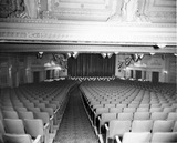 Warner Theatre under balcony