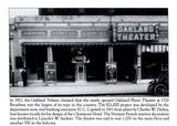 "Wider, crisper version of the Oakland Photo Theatre from ""Theatres of Oakland"" book by Jack Tillmany, Jennifer Dowling."
