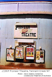 The Pioneer Open Air Theatre, Paterson Street, Tennant Creek NT (known as the old picture theatre) Poster Boards