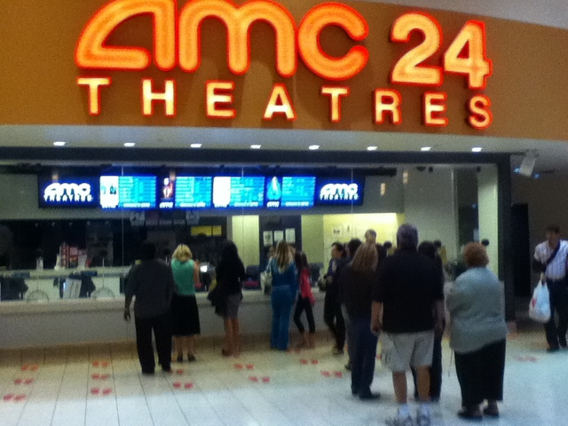 Movie theatre in fl showing atonement