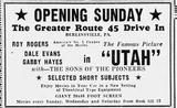 Grand opening ad from June 2, 1946