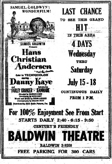 Century's Baldwin Theatre