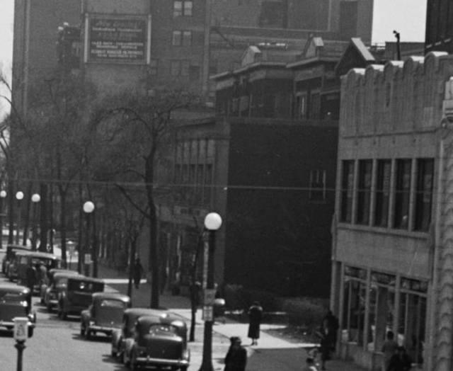 May 11, 1937 photo credit IDOT Chicago Traffic Photographs (University of Illinois at Chicago).
