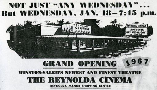 Reynolda Theatres I-II-III