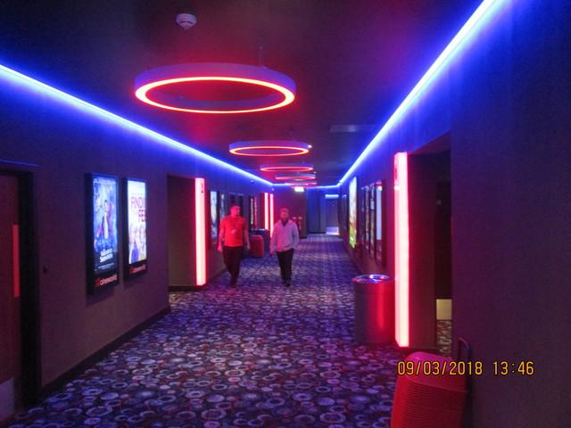 Corridor to screens 1-6