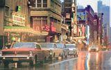 1964 postcard of Yonge Street.