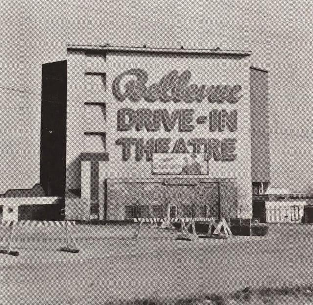Photo Credit Peoria Public Library The Bellevue Drive In