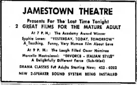 Jamestown Theatre