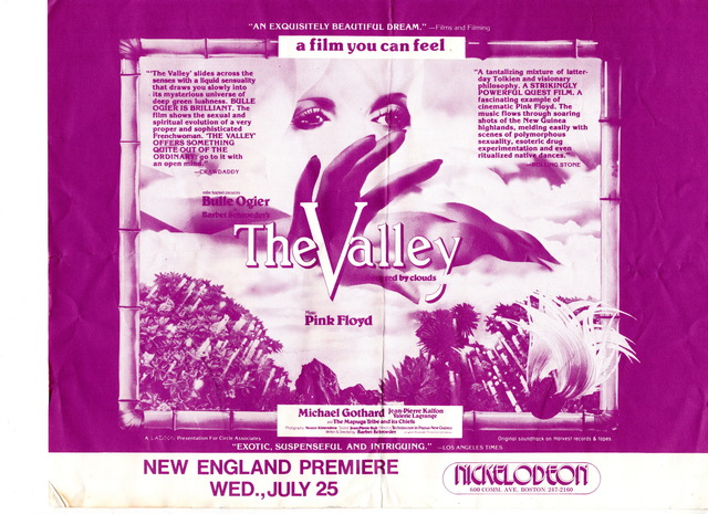 The Valley ad flyer