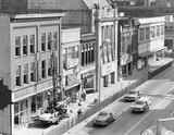 1976 photo of the Lyric Theatre prior to demolition of the block.