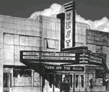 1937 artist's rendering via Frank Thorne.