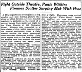 """[""""Article that appeared on front page of NYTimes Jan. 9. 1922""""]"""