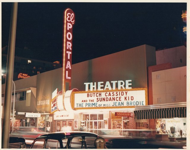 El Portal Theater in 1970
