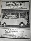 1947 Crosley sedan
