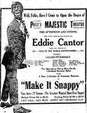 November 4th, 1922 grand opening ad