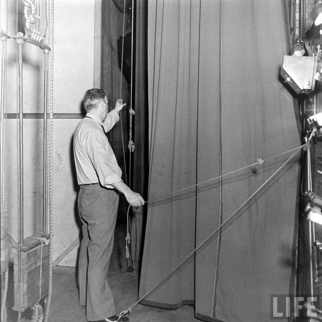 LIFE Magazine essay on the KENOSHA Theatre, 1938 (Bernard Hoffman photo).