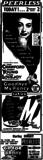 1951 advert for peerless theater from  kewanee Newspaper