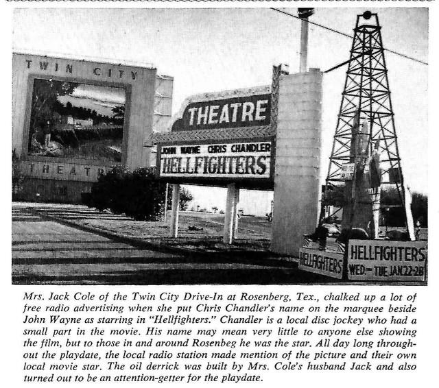Twin City Drive In In Rosenberg Tx Cinema Treasures