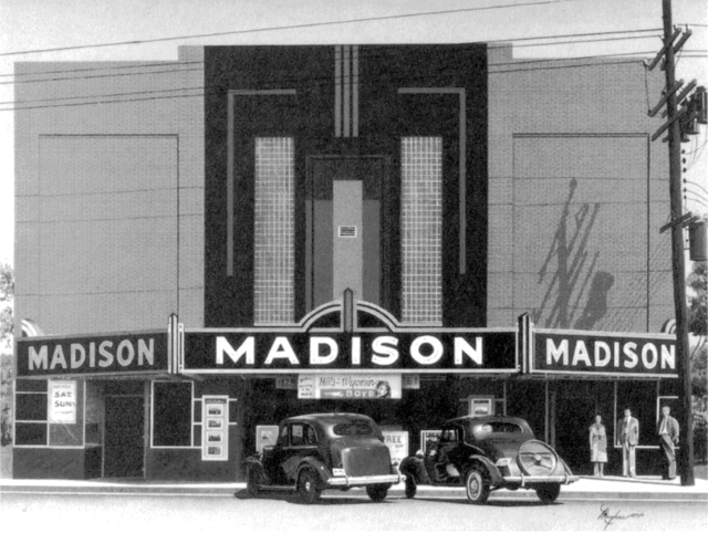 Madison Theater, ca. 1938