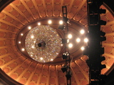<p>Auditorium chandelier</p>