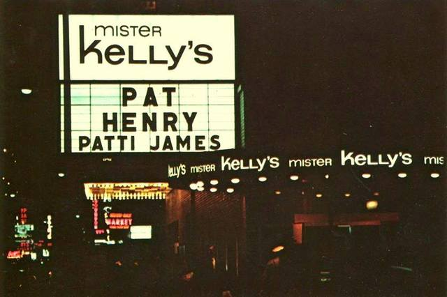 August 1969 photo credit Mister Kelly's Chicago.