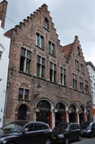<p>The historic facade of the former Memling Cinema hides an Art Deco style auditorium.</p>