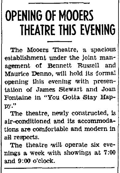 Mooers Theatre