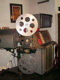 Original projector from the Ritz Theatre