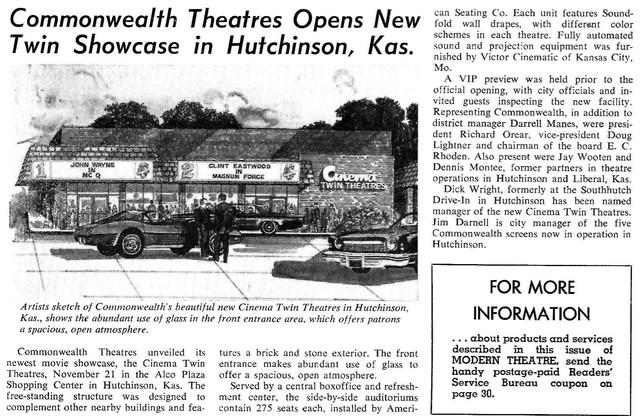 Cinema Twin - Hutchinson, KS