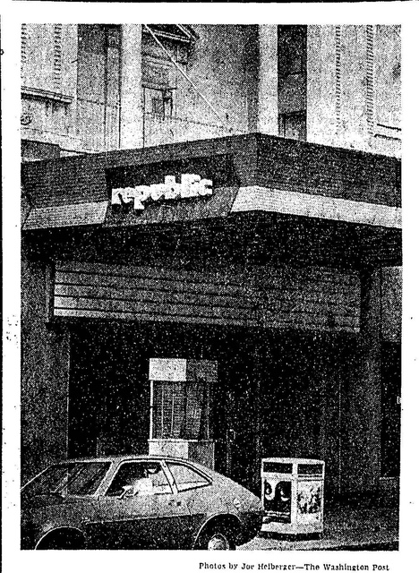 Republic Theatre, 1976