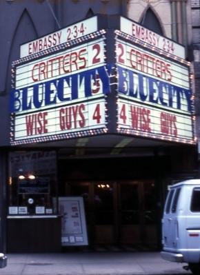 Embassy 2,3,4 Theatre exterior