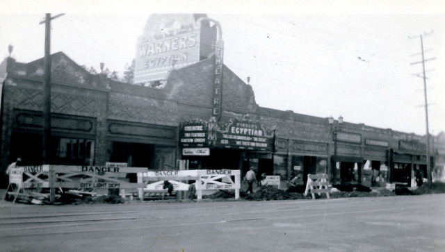 Warners Egyptian Theatre exterior