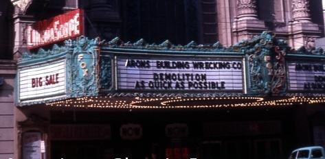 Fox Theatre exterior marquee