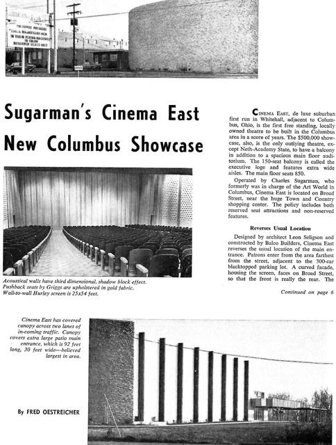 Cinema East - Whitehall, OH
